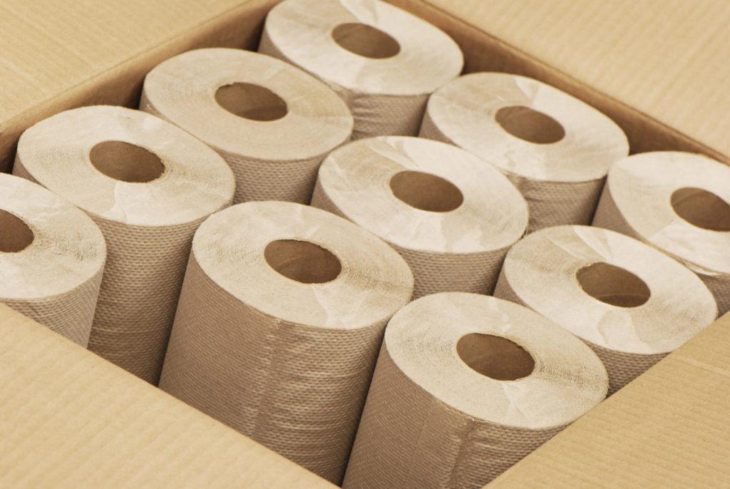 Paper roll towels