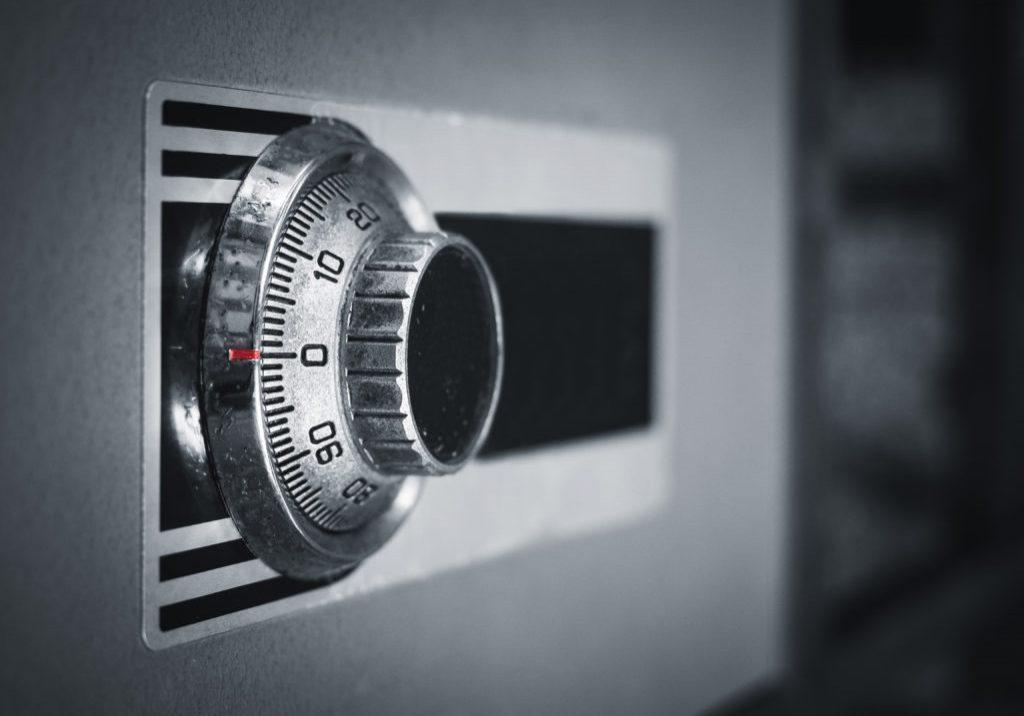 Safe Lock code on Safety Box